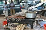 Уличная торговля на острове Занзибар