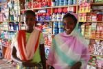 Картинка была сделана на острове Занзибар в местном супермаркете