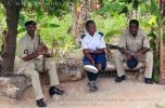 На фото полицейские острова Занзибар