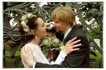 Фотоснимок со свадебной прогулки