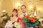 Свадебная фотосъемка в первом Дворце бракосочетания на Английской набережной в Санкт-Петербурге