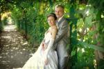 Фотосъемка свадьбы в зеленых районах Петербурга и его пригородов