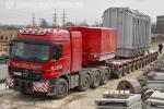 Перевозка трансформатора весом 190000 килограмм