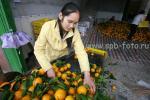 На фото – цитрусовые Гуанси-Джуанского автономного региона