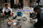 Китайские уличные кузнецы из деревни  Жаосин