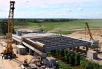Строительство моста через ручей Нагорный, на участке Кольцевой автомобильной дороги в районе Таллиннского шоссе