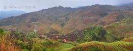 Dazhai village (Dragon\'s Backbone Rice Terraces)