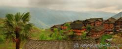 На фото: деревня Пиньян в провинции Гуанси, Юго-Западный Китай