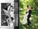 Свадебная фотокнига, Европейский стиль оформления свадебного фото