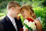 Фотосъемка свадебной прогулки в Таврическом саду Санкт-Петербурга