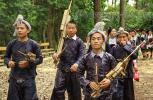 Оркестр из деревни национального меньшинства Miao, с бамбуковыми инструментами – Lusheng