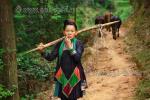 Китайская Народная Республика, женщина национального меньшинства Мяо