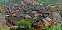 На фотографии деревня Зенчон (Zengchong), юго-восток провинции Гуйчжоу, Юго-Западный Китай