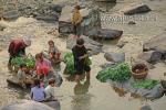 Семья китайцев этноса Мяо из деревни Зенчон (провинция Guizhou)