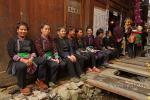 Поминальная служба в деревне Зенчон (增冲), Юго-Западный Китай