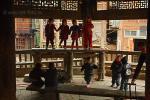 <b>Дети играют в китайском храме
