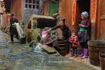 <b>Жизнь в отдаленной китайской деревне Зенчон, провинция Гуйчжоу