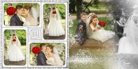Свадебная фотосъемка в Смольном парке Санкт-Петербурга