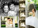 Свадебный коллаж 2011 года, лето, август