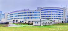 На фото, часть комплекса зданий «Всероссийского центра экстренной и радиационной медицины имени А