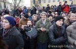 Молодая российская интеллигенция на митинге «За честные выборы»