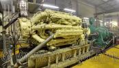 Стенд для испытания судовых дизельных двигателей, фото