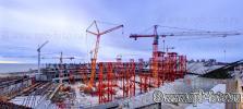 Строящийся Стадион «Зенит», «Зенит-Арена», «Газпром-Арена», а точнее – «Футбольный стадион в западной части Крестовского острова»