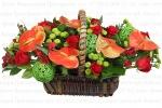 Фотосъемка букетов для магазина цветов