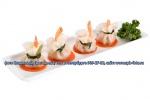 На фото, китайские пельмени дим-сам с креветкой, снимок сделан по заказу ресторана азиатской кухни в Санкт-Петербурге