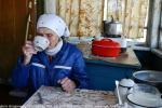 Незатейливый быт Российской пенсионерки