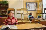 На фото малокомплектная сельская школа в деревне Подол, Вышневолоцкого района, Тверской области