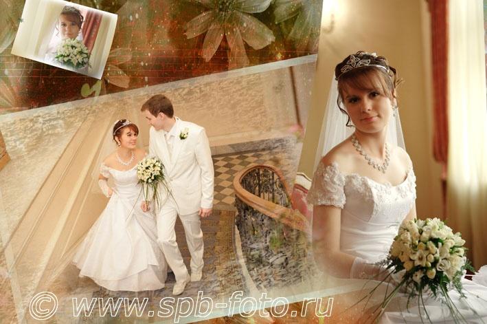 Репортажная и постановочная свадебная фотосъемка