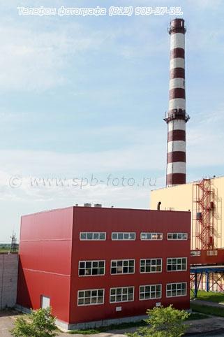 Новое здание энергоцентра на промышленном комбинате, фото