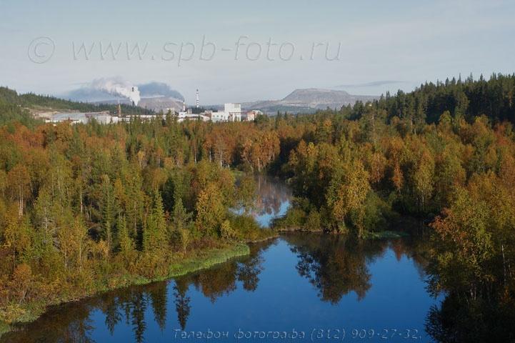 Северный индустриальный пейзаж, Ковдор