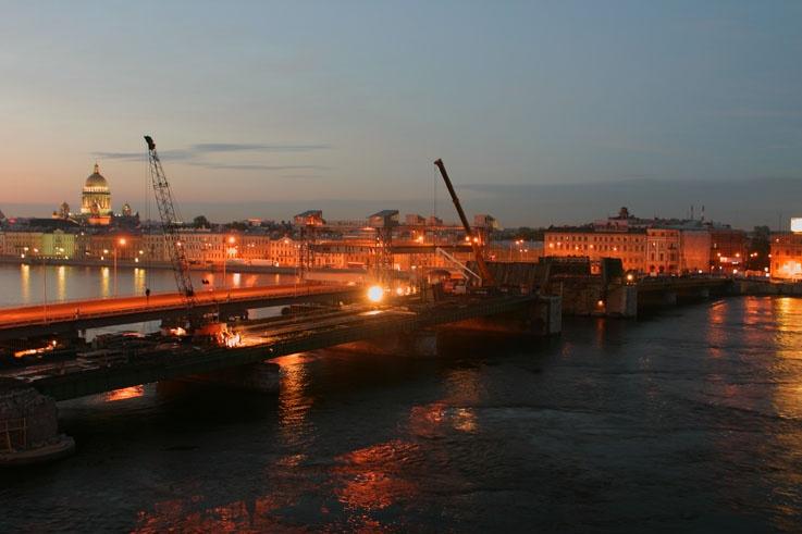 Реконструкция моста Л