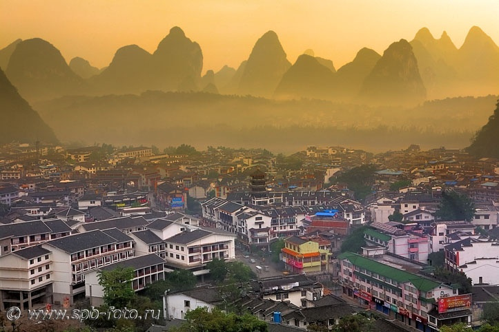 桂林阳朔, Yangshuo Town