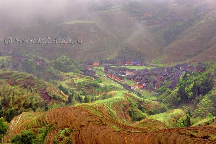Jinkeng Terraced Field&Local Yao minority's home