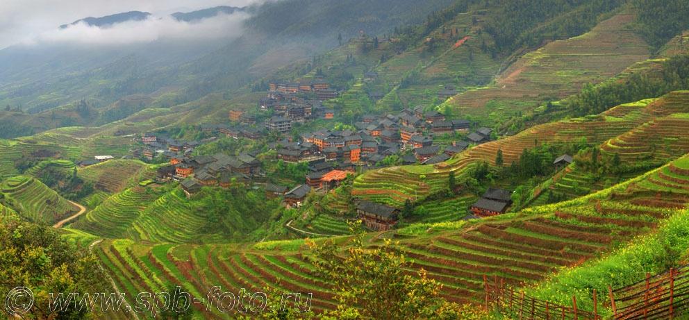 Деревня Пиньян, Гуйлинь, Гуанси, Китай (фото)