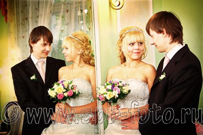 Безумные цвета в свадебном фото
