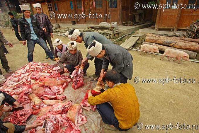 Китайская свинина, фото