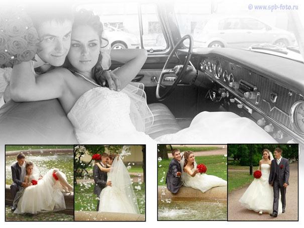 Свадебный лимузин «Чайка»