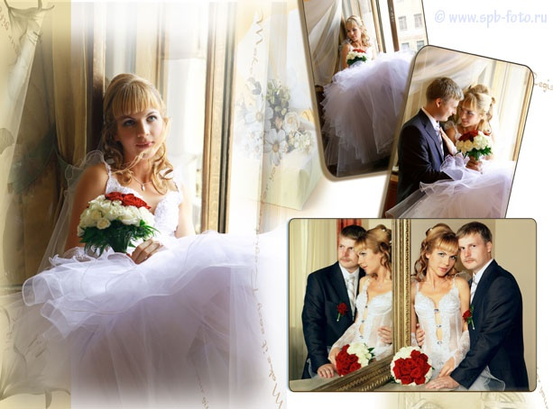 Свадебная фотосессия во дворце на Фурштадской ул