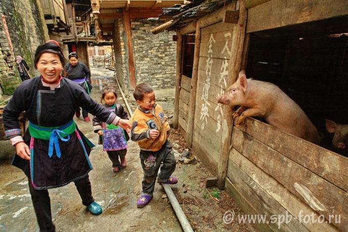 Сельская жизнь в КНР, деревня национальных меньшинств