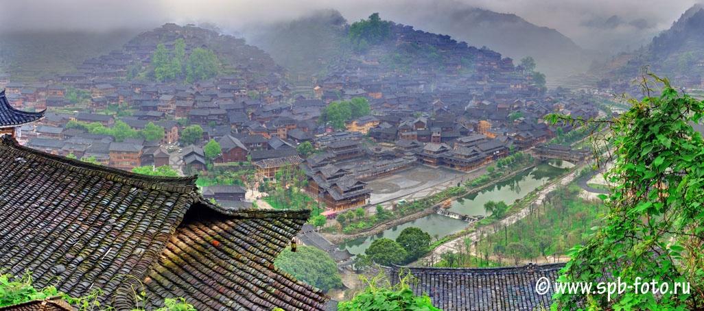 Xijiang Miao Village 西江千户苗寨