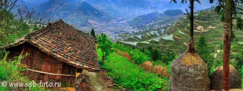 Горная местность Юго-Западного Китая, Leishan County, Guzhou