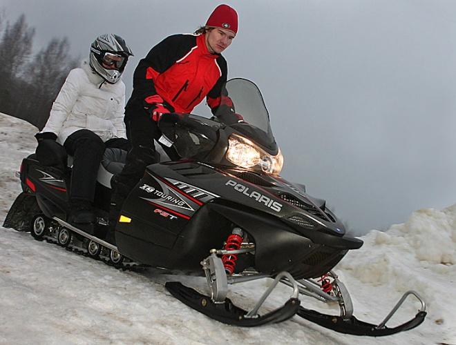 Снегоход Polaris FST IQ Touring