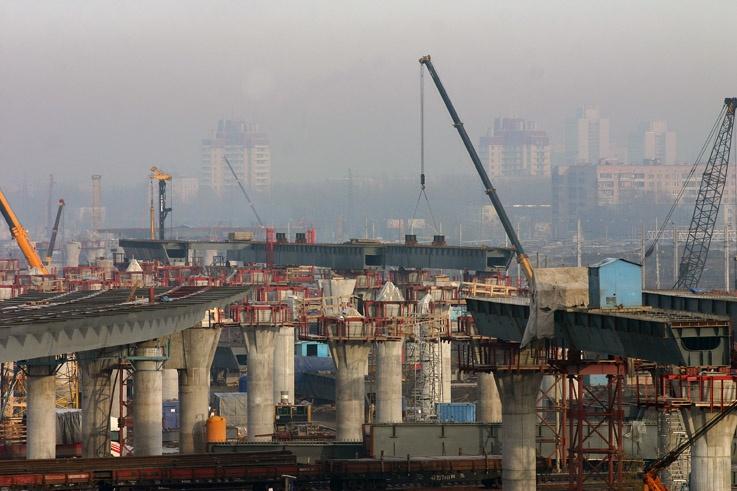 Строительство Западного Скоростного Диаметра