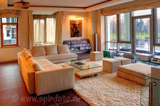Фотосъемка элитной недвижимости в Санкт-Петербурге