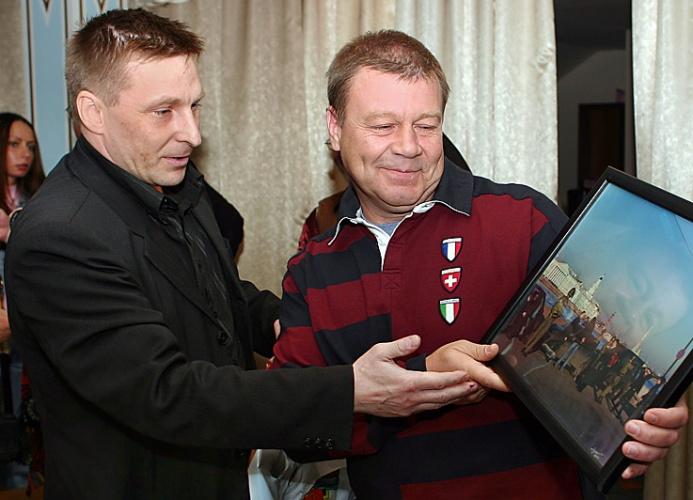 Сергей Селин и подполковник Валерий Вехов