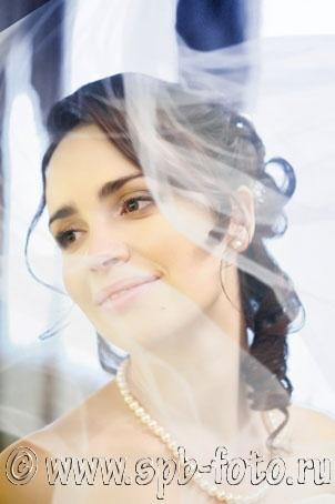 Свадебная фотография с дополнительной обработкой